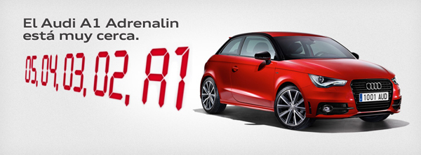[Concurso] Audi te desafa a probar el Audi A1 Adrenalin